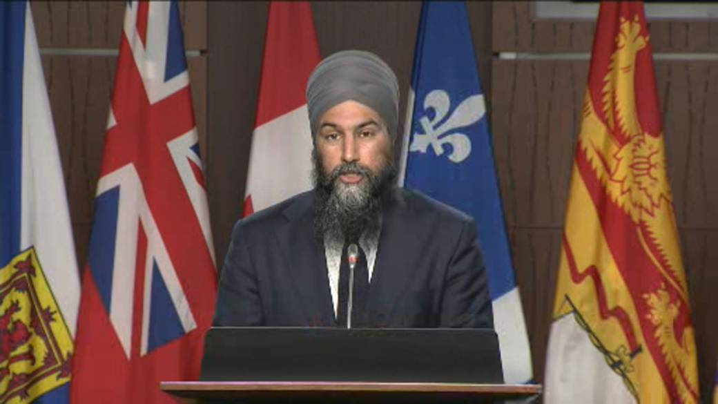 Click to play video: 'Budget 2021: NDP leader says budget doesn't ensure that ultra rich 'pay their fair share''