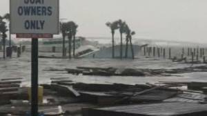 Hurricane Sally makes landfall, brings historic flooding (01:45)