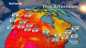Winnipeg weather outlook: July 30 (01:39)