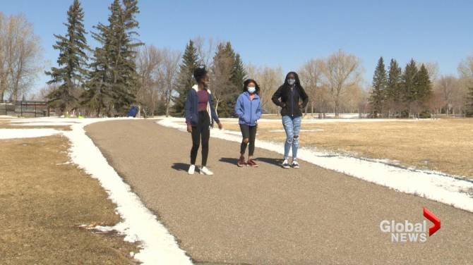 Click to play video: Black students speak out about racism in Lethbridge schools