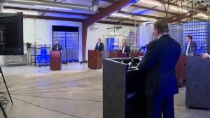 Saskatoon mayoral candidates square off in economic focused debate (01:07)