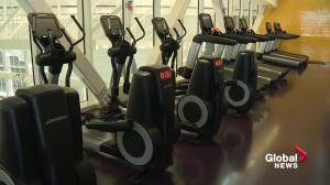 Edmonton to gradually re-open rec centres for low-impact fitness (01:55)