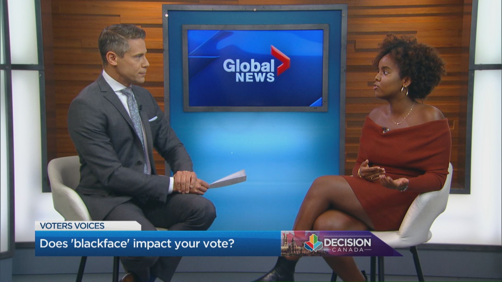 Does 'blackface' impact your vote?