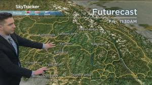 Kelowna Weather Forecast: February 10 (03:34)