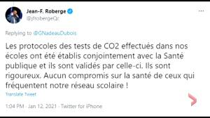 School air quality tests: Quebec opposition parties call for education minister to resign (01:53)
