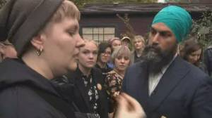 Jagmeet Singh rallies voters in BC