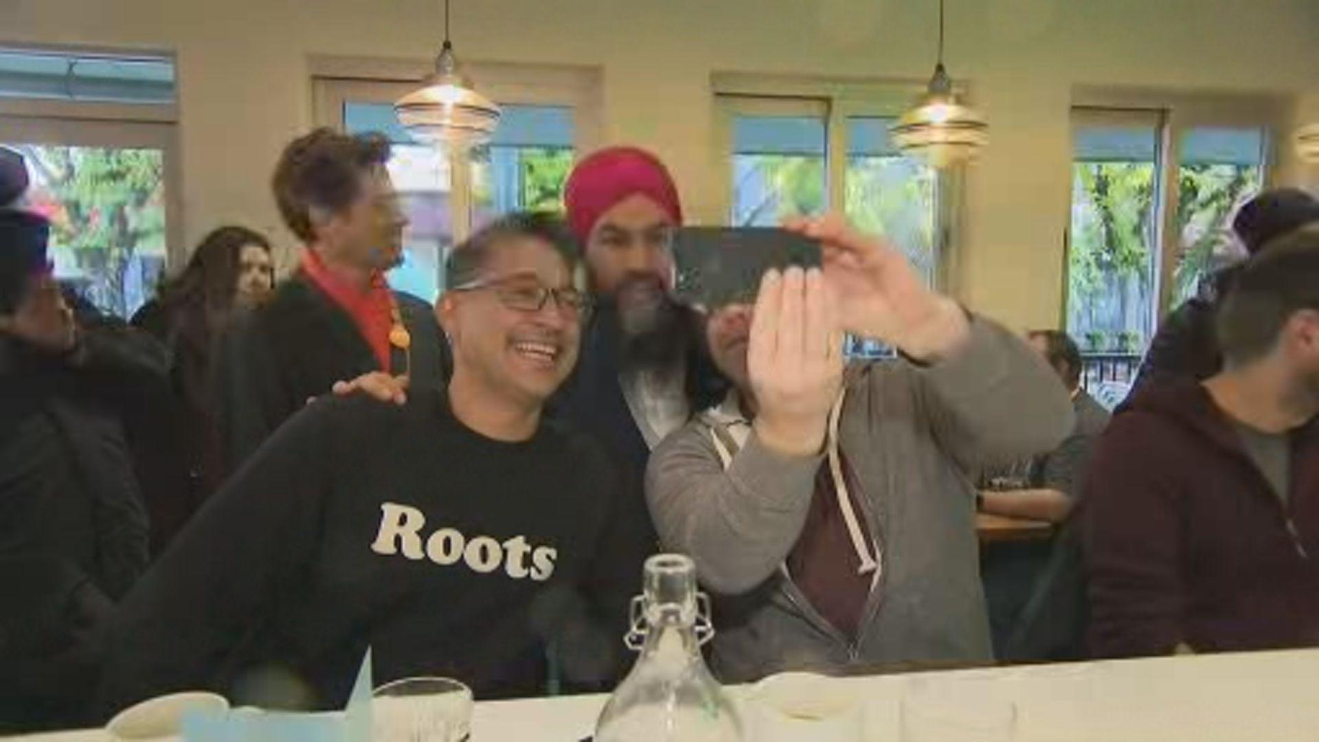 NDP leader Jagmeet Singh wraps up campaign in B.C.