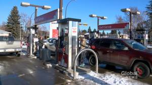 Calgarians hit the pumps ahead of federal carbon tax implementation
