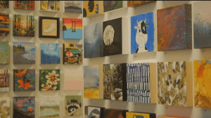 Anonymous Art Show sells art for arts sake (03:09)