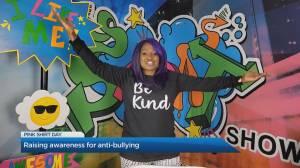 'Pink Shirt Day': Youth mental health advocate Saidat Abari raises awareness about anti-bullying (04:14)