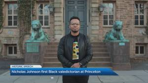 What it took to become Princeton's first Black valedictorian (05:05)