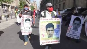 Families of Mexico's 43 missing students express faith in investigations