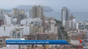 Coronavirus: Stranded Canadians continue to wait for help