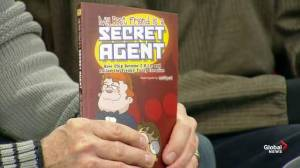 'My Best Friend is a Secret Agent' becomes a published book