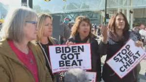 America Votes 2020: Trump supporters weigh in on Biden presidency potential (02:22)