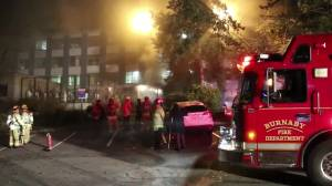 Fire forces evacuation from Burnaby General Hospital (01:14)