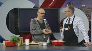 The perfect dill pickle soup with KITCHEN by Brad Smoliak