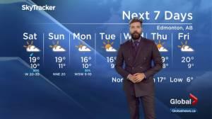 Edmonton Weather Forecast: Sept. 13