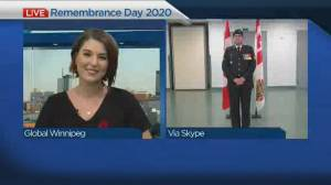Remembrance Day 2020: Master Corporal Brett Thompson (03:45)