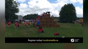 A preview of the Kingston Mudmoiselle cancer fundraiser