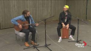 Singer-songwriter, Daniel James McFadyen, Performs on Global News Morning (05:06)