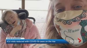 Markham mother cites rising COVID-19 case counts as reason for restricted ICU visits (02:02)