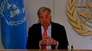Coronavirus outbreak: U.N. chief says COVID-19 'most challenging crisis' since World War II