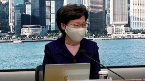 Hong Kong's Carrie Lam delays election for 1 year, cites COVID-19 as reasoning