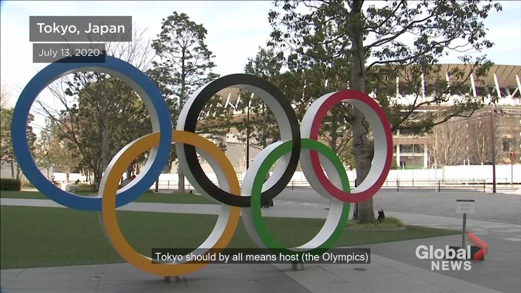 Click to play video 'Olympics must go ahead next year as symbol of overcoming COVID-19, Tokyo governor says'