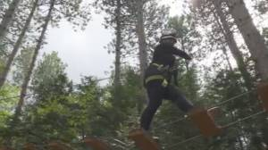 You can physically distance while ziplining at this Ganaraska Forest attraction
