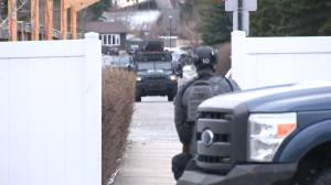 Police attend standoff in northeast Calgary (01:53)