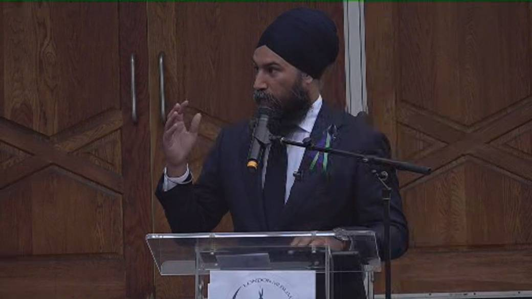 Click to play video: 'Singh tells Muslim community not to cower in fear after attack on family'
