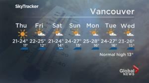 B.C. evening weather forecast: June 16 (02:07)