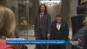 Your Ward News editor, publisher lose conviction appeal (01:54)