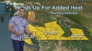 Play video: Some areas of B.C. could see temperatures in the 30s