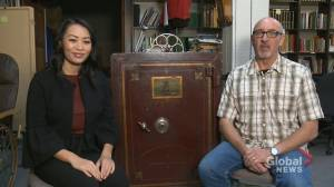 Regina museum seeks public's help to unlock mystery safe from 1901