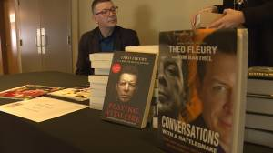 Theo Fleury speaks about mental health in Kelowna