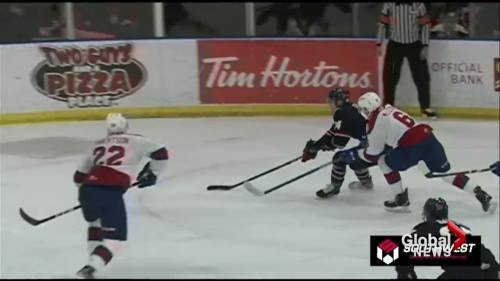 Lethbridge Hurricanes down division-leading Oil Kings in shootout | Watch News Videos Online