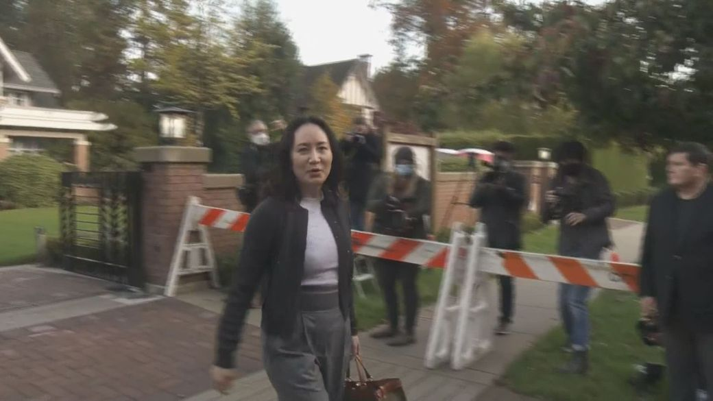 Click to play video 'Meng Wanzhou back in B.C. Supreme Court for witness testimony in extradition case'