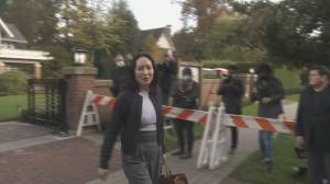 Meng Wanzhou back in B.C. Supreme Court for witness testimony in extradition case (02:01)