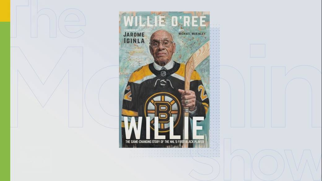 Click to play video 'Willie O'Ree talks about new memories and journey to becoming the first black player in the NHL'
