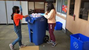 Regina school's award-winning 'Green Team' continues work within pandemic rules