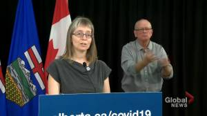 Alberta parents and students to be notified of COVID-19 cases in schools by letter or phone: Hinshaw (02:49)