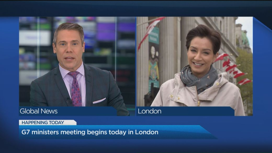 Click to play video: 'G7 foreign minister to meet in-person for the first time since the pandemic'
