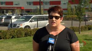 Regina mom frustrated as public division moves 25 teachers out of class to meet e-learning demand (01:44)