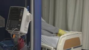 Drop in COVID-19 hospitalizations in B.C. (02:20)
