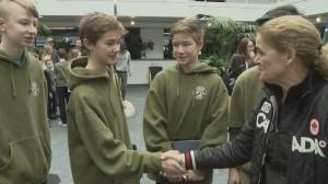B.C. teens recognized for heroic Grouse Mountain chairlift rescue