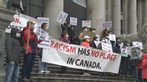 Incidents of Asian hate in B.C. are still under-reported (01:52)