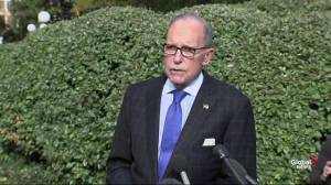 Kudlow agrees with Trump that stock market held back by impeachment effort