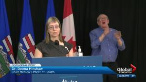 Many questions, few answers about Alberta reopening plan benchmarks (04:46)